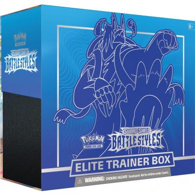 TCG Pokémon Sword & Shield Battle Styles Elite Trainer Box - Rapid Strike Urshifu POKEMON