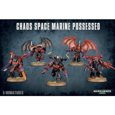 Foto van Chaos Space Marine Possessed WARHAMMER 40K