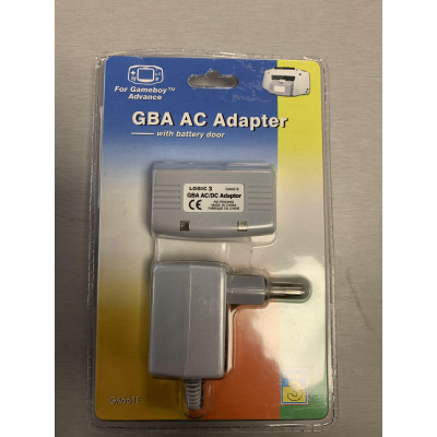 Gba Ac Adapter With Battery Door GBA