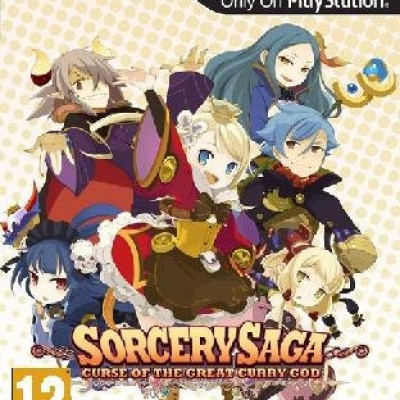 Foto van Sorcery Saga Curse Of The Great Curry God PSVITA