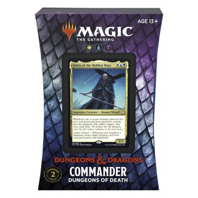 TCG Magic The Gathering D&D Forgotten Realms Commander Deck - Dungeons of Death MAGIC THE GATHERING