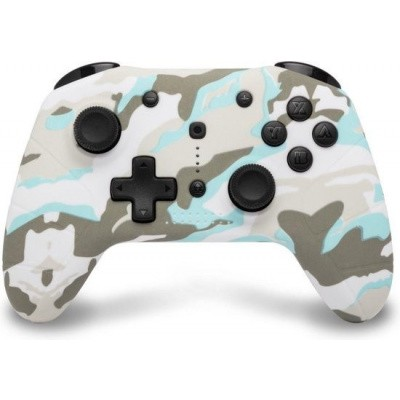 Foto van Under Control Bluetooth Controller Snow White Camo SWITCH