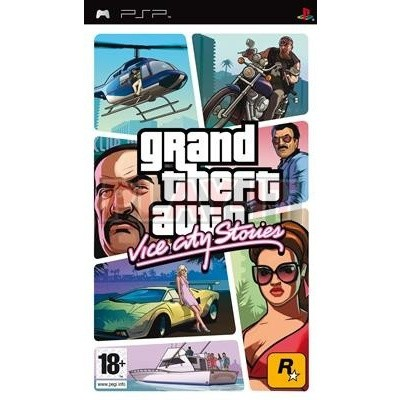 Foto van Grand Theft Auto Vice City Stories (Gta) PSP