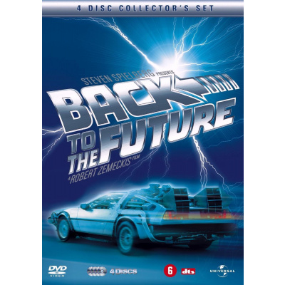 Foto van Back To The Future Trilogy (4DVD-Box) DVD