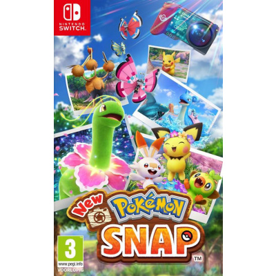 Foto van New Pokémon Snap SWITCH