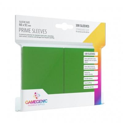 TCG Prime Sleeves 66 x 91 mm - Green (Standard Size/100 Stuks) SLEEVES
