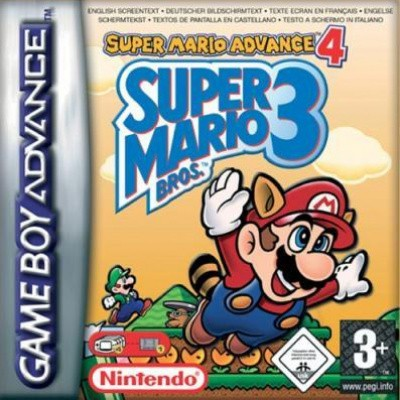 Foto van Super Mario Bros. 3 Super Mario Advance 4 GBA