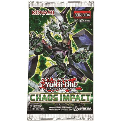 Foto van TCG Booster Pack Yu-Gi-Oh! Chaos Impact YU-GI-OH