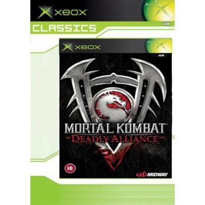 Foto van Mortal Kombat Deadly Alliance (Classics) XBOX