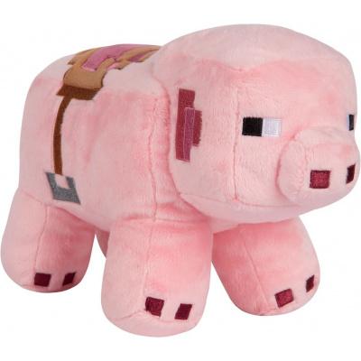 Foto van Minecraft - Saddled Pig Pluche 28 cm PLUCHE