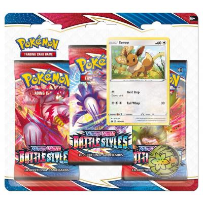 TCG Pokémon Sword & Shield Battle Styles Booster Packs - Eevee POKEMON