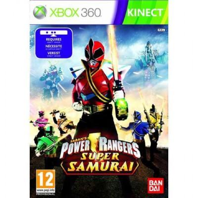 Foto van Power Rangers Super Samurai (Kinect) XBOX 360
