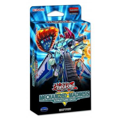 TCG Yu-Gi-Oh! Mechanized Madness Structure Deck YU-GI-OH!