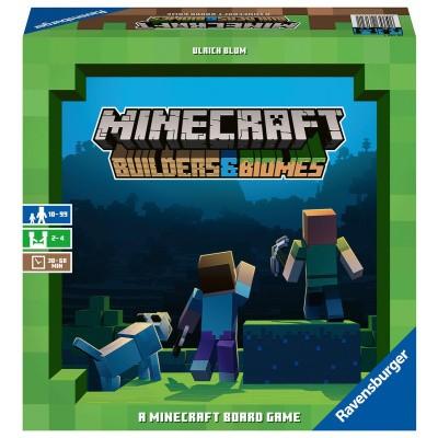 Minecraft Builders & Biomes BORDSPELLEN