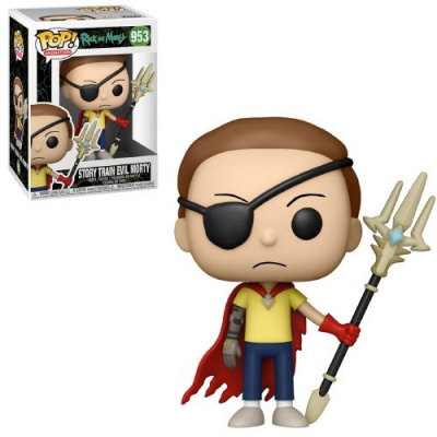 Pop! Animayion: Rick and Morty - Story Train Evil Morty FUNKO