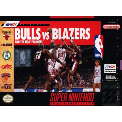 Foto van Bulls Vs. Blazers SNES