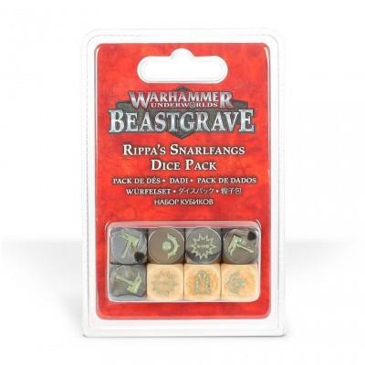 Foto van Warhammer Underworlds: Beastgrave - Rippa's Snarlfangs Dice Pack WARHAMMER UNDERWORLDS