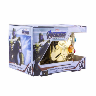 Marvel: Avengers Endgame - Infinity Gauntlet Shaped Mug