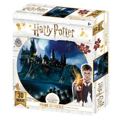 Foto van Harry Potter: Hogwarts Prime 3D puzzle 500pcs PUZZEL