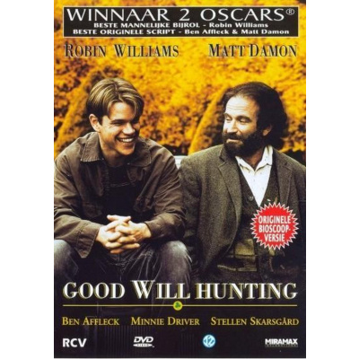 Foto van Good Will Hunting DVD MOVIE