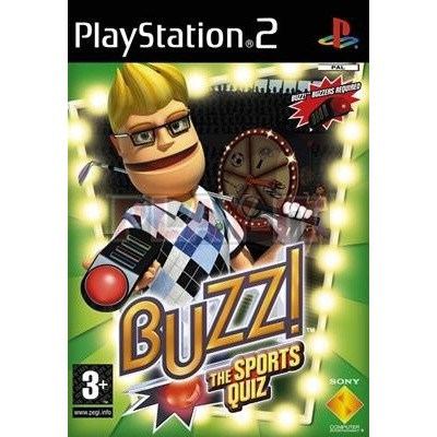 Buzz! The Sports Quiz (Game Only) PS2