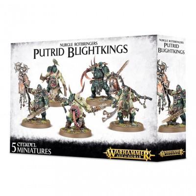 Nurgle Rotbringers Putrid Blightkings WARHAMMER AOS