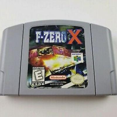 Foto van F-Zero X (Losse Cassette) N64