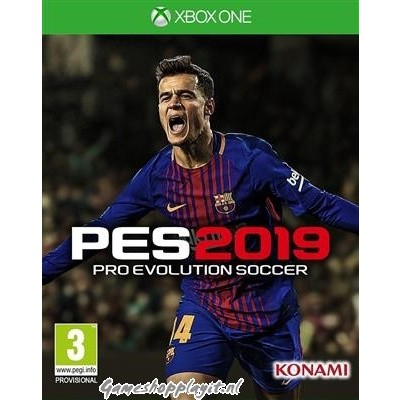 Pro Evolution Soccer 2019 (Pes 2019) XBOX ONE