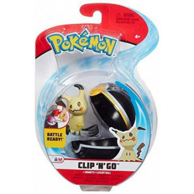 Pokemon Figure - Mimikyu + Luxury Ball (Clip 'n' Go) MERCHANDISE