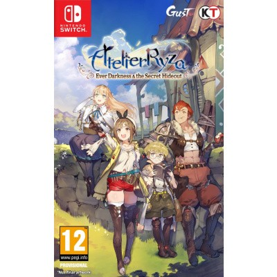 Foto van Atelier Ryza: Ever Darkness & the Secret Hideout Nintendo Switch
