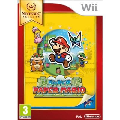 Foto van Super Paper Mario (Selects) WII