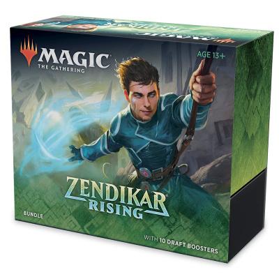 Foto van TCG Magic The Gathering Zendikar Rising Bundle MAGIC THE GATHERING