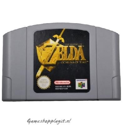Foto van The Legend Of Zelda Ocarina Of Time (Losse Cassette) N64
