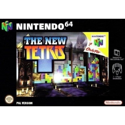 Foto van The New Tetris N64