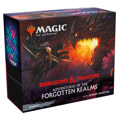 Foto van TCG Magic The Gathering D&D Forgotten Realms Bundle MAGIC THE GATHERING