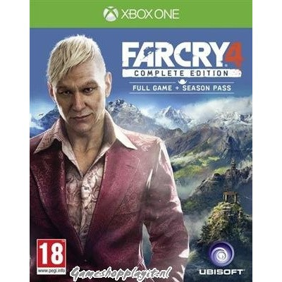 Foto van Far Cry 4 Complete Edition Full Game + Season Pass Xbox One