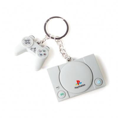 Foto van Nintendo - PlayStation 3D Rubber Keychain MERCHANDISE