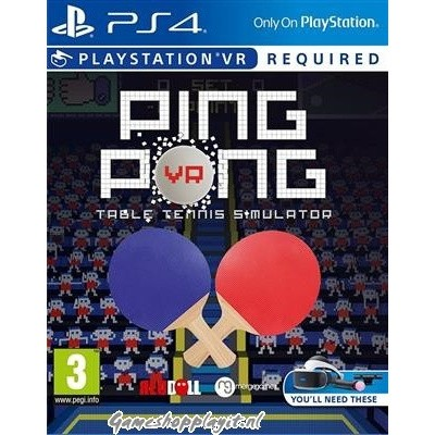 Foto van Ping Pong VR PS4