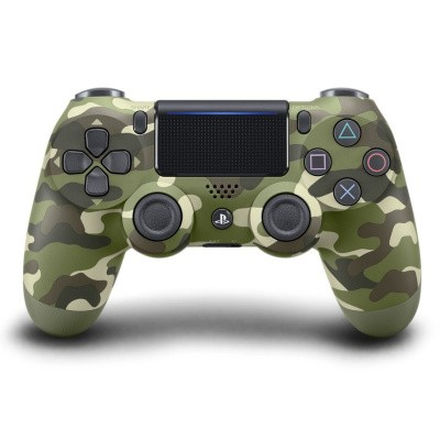 Foto van Sony Wireless Dualshock 4 Controller V2 (Green Camouflage) PS4