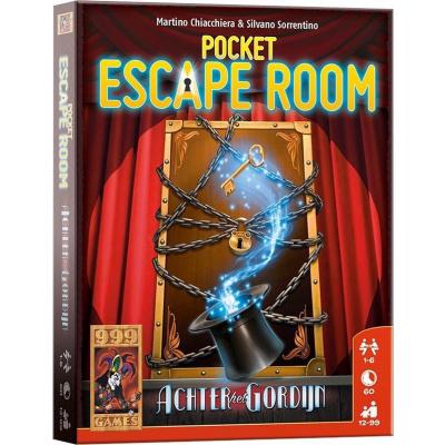 Pocket Escape Room: Achter het Gordijn Breinbreker BORDSPELLEN