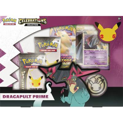 TCG Pokémon Celebrations Collection Box Dragapult Prime POKEMON