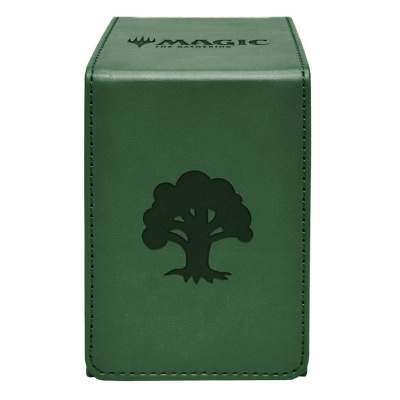 Foto van TCG Deckbox Magic The Gathering Alcove Flip Box - Forest DECKBOX