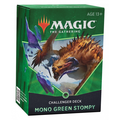 TCG Magic The Gathering Challenger Deck 2021 - Mono Green Stompy MAGIC THE GATHERING