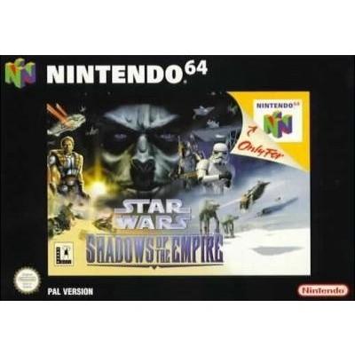 Foto van Star Wars Shadows Of The Empire N64