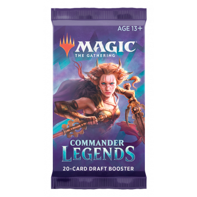 Foto van TCG Magic The Gathering Commander Legends Booster Pack MAGIC THE GATHERING