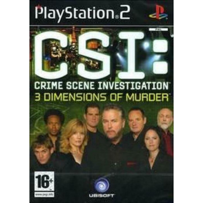Crime Scene Investigation 3 Dimensions Of Murder PS2