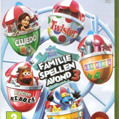 Foto van Hasbro Family Game Night Vol 3 XBOX 360