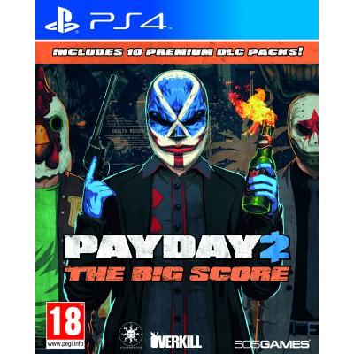 Foto van Payday 2 The Big Score PS4