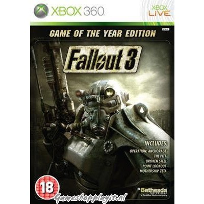 Foto van Fallout 3 Game Of The Year Edition