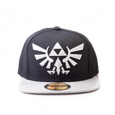 Foto van Zelda - Twilight Princess - Grey Triforce Logo Cap MERCHANDISE